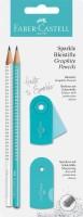 Faber-Castell Schreibset Sparkle pearl türkis/weiß BK