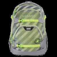 COOCAZOO Schulrucksack ScaleRale - MeshFlash, Neongreen 2020