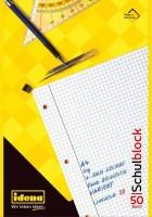 Idena Schulblock FSC-Mix, A4 kariert, 50 Bl., Lin. 28