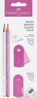 Faber-Castell Schreibset Sparkle pearl pink/weiß BK