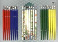 Federhalter mit Feder, farbig sortiert