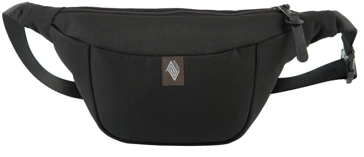 Nitro Hip Bag Gürteltasche True Black Sporttaschen & Rucksäcke