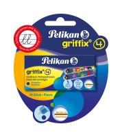 Pelikan Tintenpatronen - Griffix - sortiert P1R/5/2B, 4001 Tinte, Blister 2x5 Stk.
