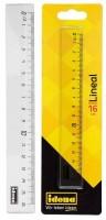 Idena Lineal 16 cm, transparent