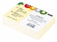 """Karteikarten """"CROCO"""" für CROCO-Box A8, liniert, gelb, 100 Stück"""