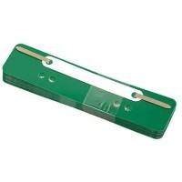 Soennecken Heftstreifen 3171 kurz Kunststoffdeckl.grün 25 St./Pack